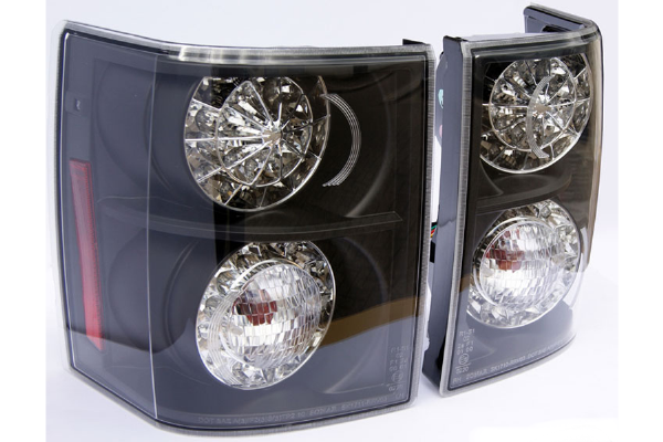 Range Rover Vogue 2012 Style Rear LED Lights - Clear